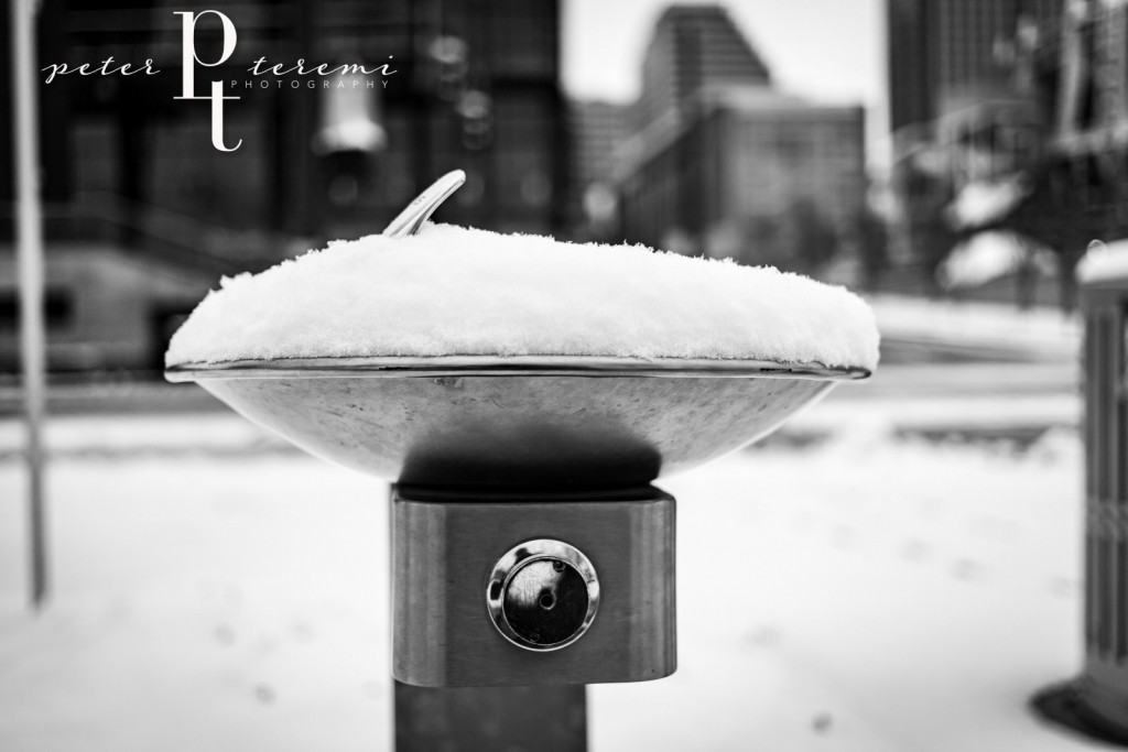 Snow Cone Water Fountain
