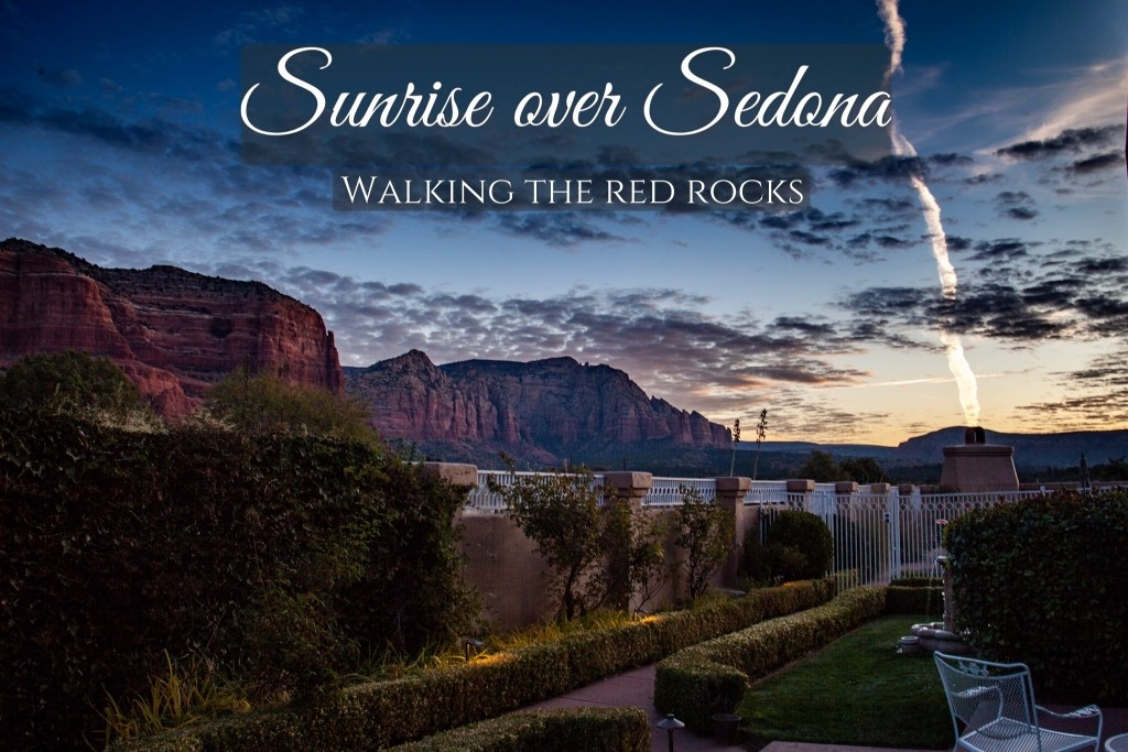 Sunrise over Sedona