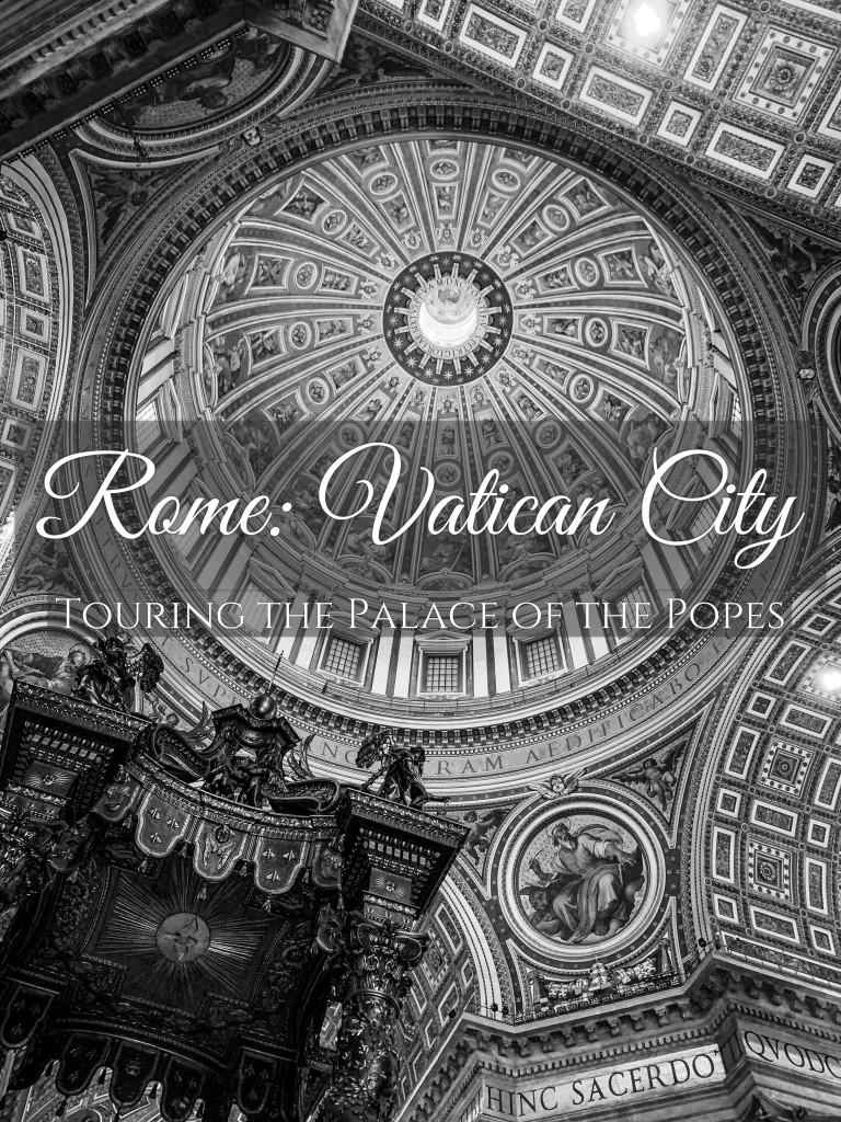 Touring Vatican City